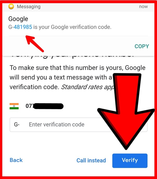 can i make two gmail accounts with the same mobile number