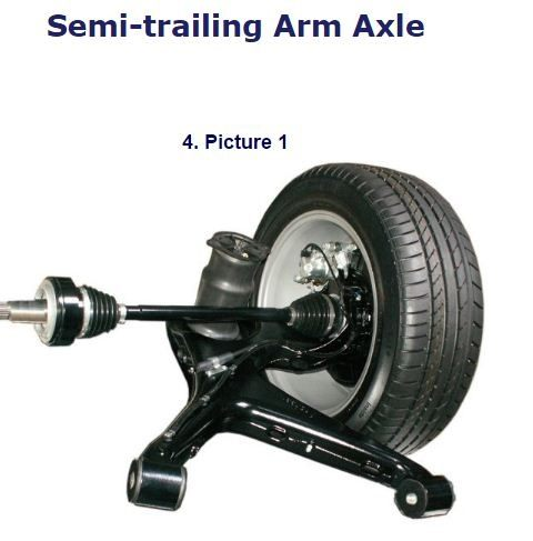 What Are Semi Trailing Arms And What Are The Advantages Of Disadvantages Of Using Them Over