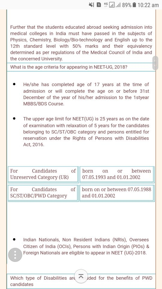 How many attempts will be there for NEET from 2019? - Quora