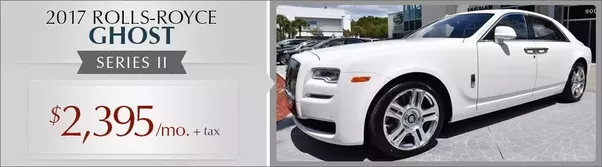 what are the costs involved in owning a rolls royce vs