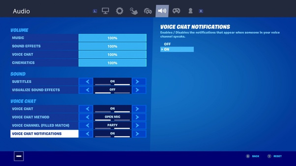 Controller Keybinds Fortnite Ps4 How To Push To Talk In Fortnite Quora