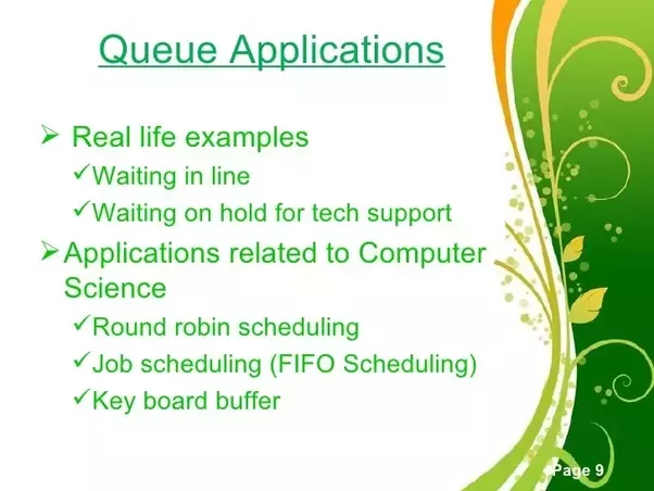 queue applications What are some real-world applications of a queue data structure? - Quora