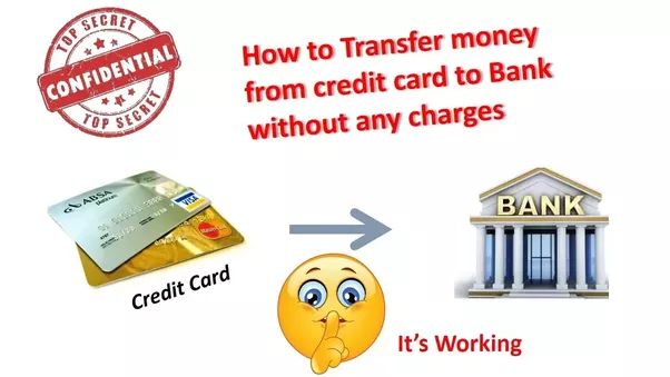 Can we transfer money from forex card to bank account