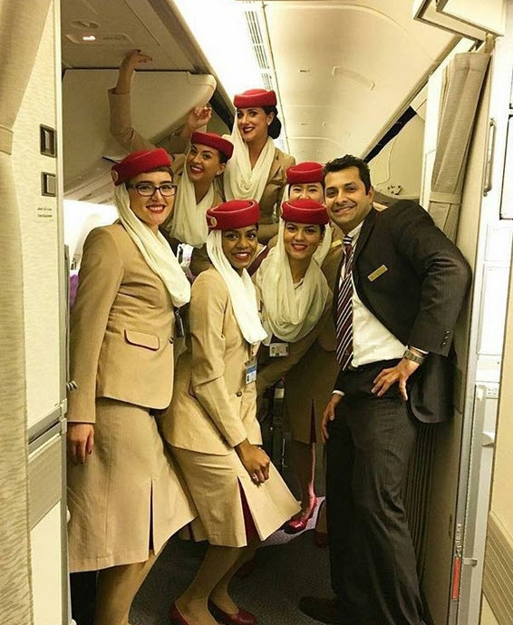 Fly Emirates Jobs Cabin Crew
