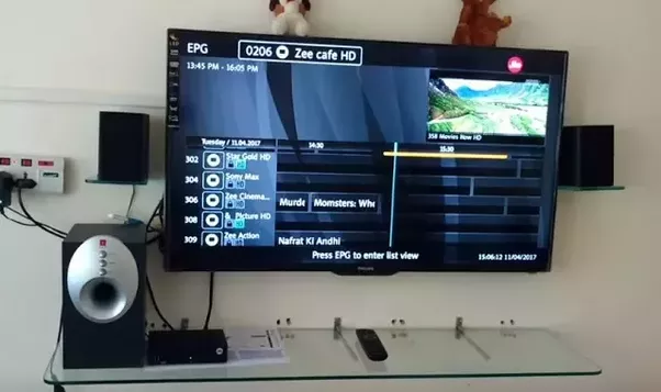 how to connect set top box