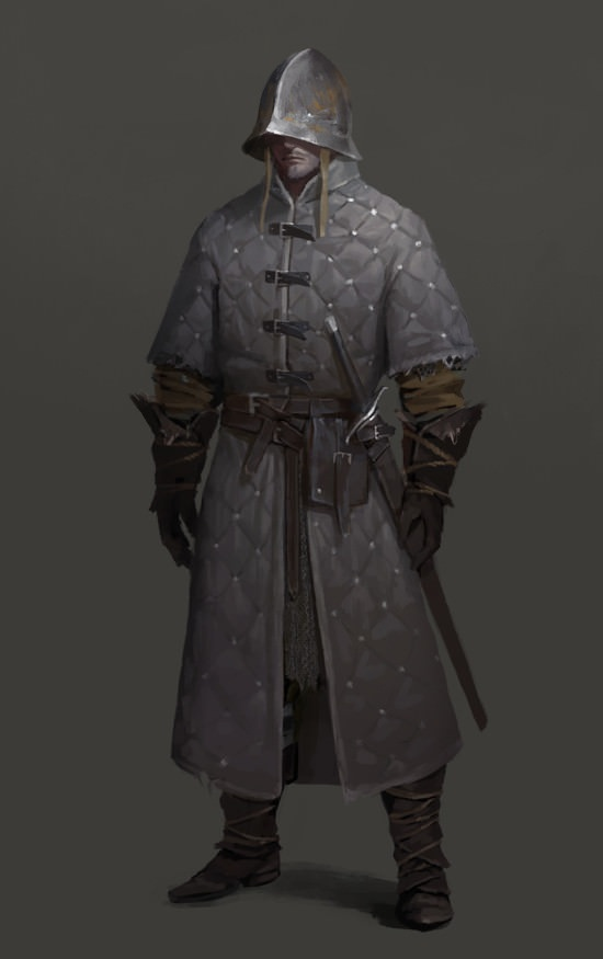 Most Of The Non-knight Warriors In A Medieval Host Didn't