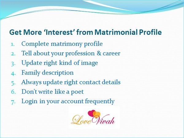 How to make my matrimony profile stand out - Quora