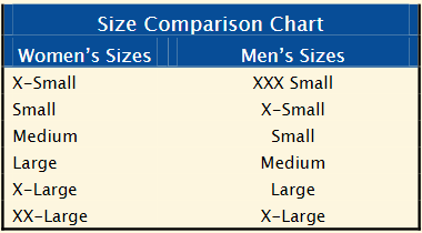 Is A Women 39 S Large T Shirt The Equivalent To A Men 39 S