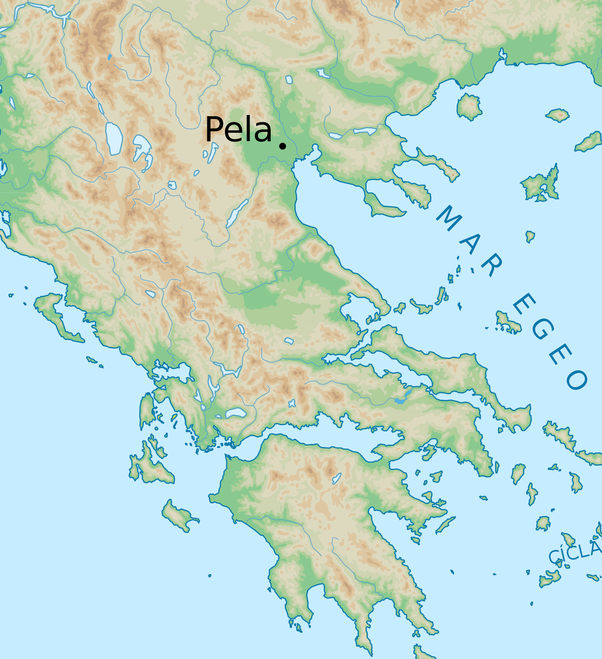 Pella Greece Map.Where Was Alexander Born In Modern Day Greece Or In Modern Day