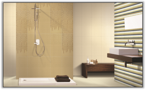 What are good ways to arrange tiles on bathroom walls? - Quora