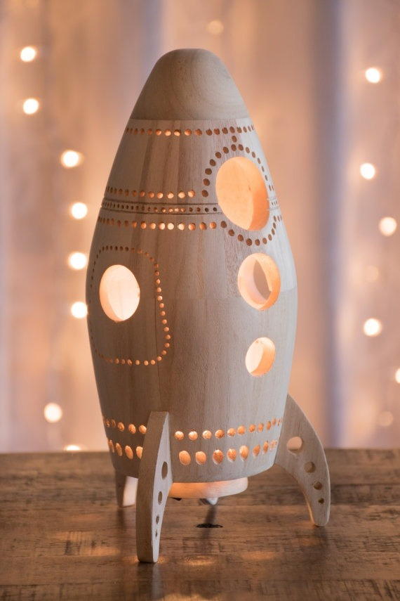 If Your Kid Is More Into Outer Space And Astronauts, This Spaceship Lamp  Could Be The Perfect Choice. Now, This One Would Function More Like A  Nightlight Or ...
