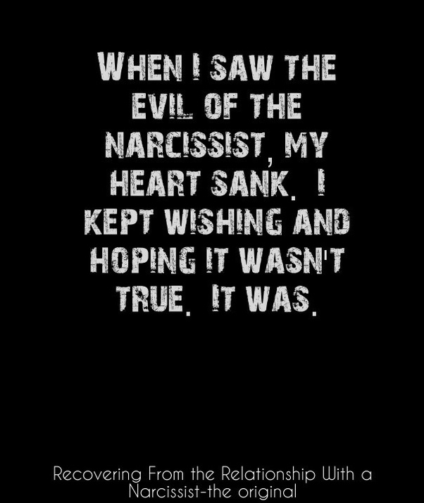 Are narcissists demonic? I think they are born human and