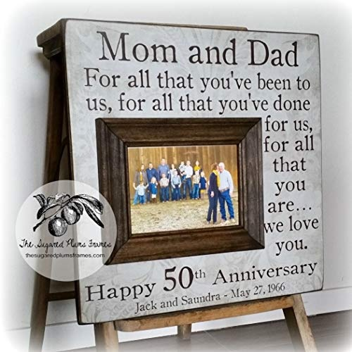 Wedding Gifts Parents: What Are The Most Unique 50th Wedding Anniversary Gifts