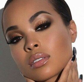 Or Check Out This Look By Louiseadolphsonse The Emphasis Is On Eyes Wearing A Nude Lip Color