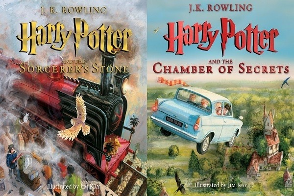 Harry Potter Book Cover Versions : What s your favorite harry potter book cover quora