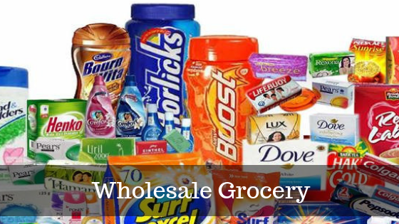 How to get the list of groceries and wholesale distributor contact