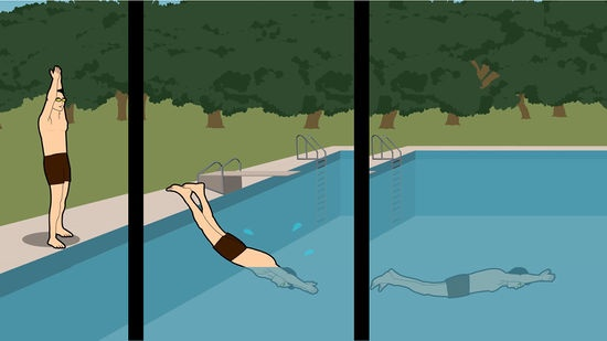 How To Overcome My Fear Of Diving In A Swimming Pool Quora