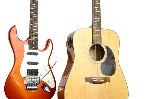 should i learn acoustic guitar or electric guitar first quora. Black Bedroom Furniture Sets. Home Design Ideas