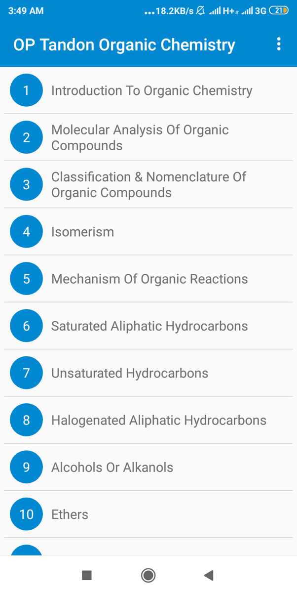 Where can I get op tandon organic chemistry book in PDF format for