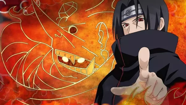 why are itachis eyes different from sasukes eyes and how