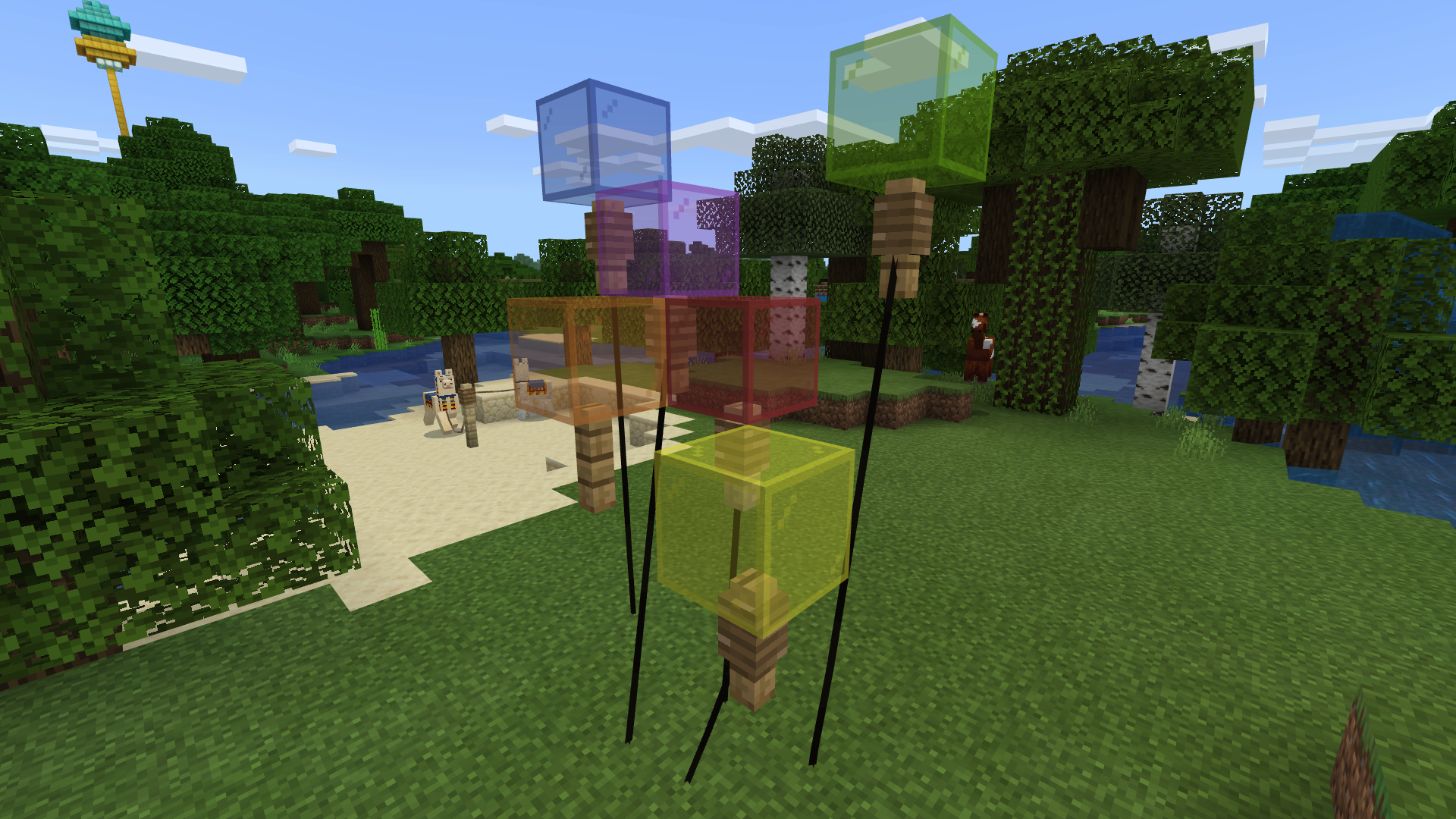 How to make a balloon in Minecraft - Quora