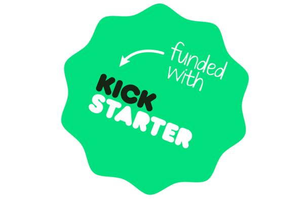 Kickstarter Funded Logo