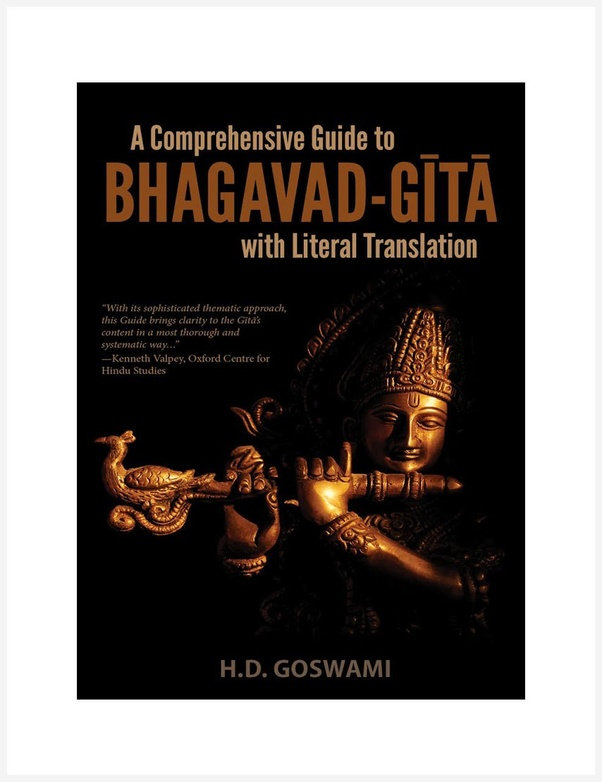 Whats the best way to read the bhagavad gita for comprehension quora the first one is called a comprehensive guide to the bhagavad gita by hd goswami this one is an excellent version of the gita to read if you are a fandeluxe Image collections