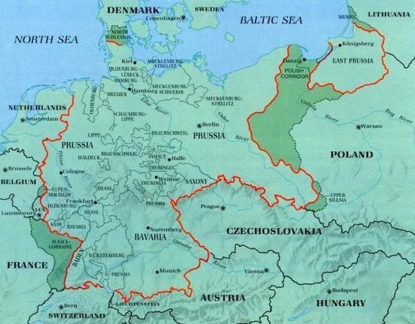 Was it ever possible for germany to win world war ii quora germany in 1930 vs germany in 1940 gumiabroncs Images