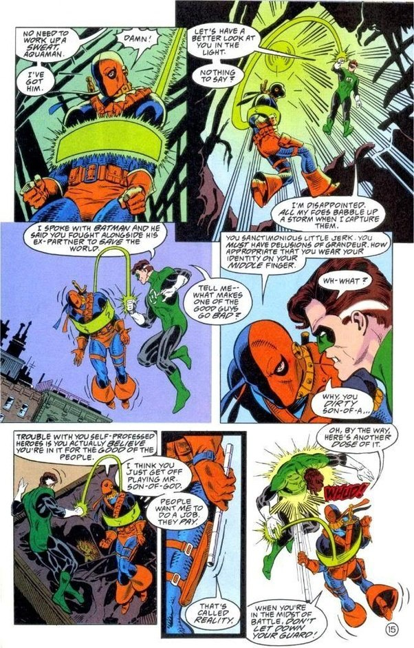Has anyone ever managed to defeat Deathstroke in hand-to ... | 602 x 941 jpeg 216kB
