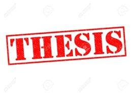 Buy m tech thesis