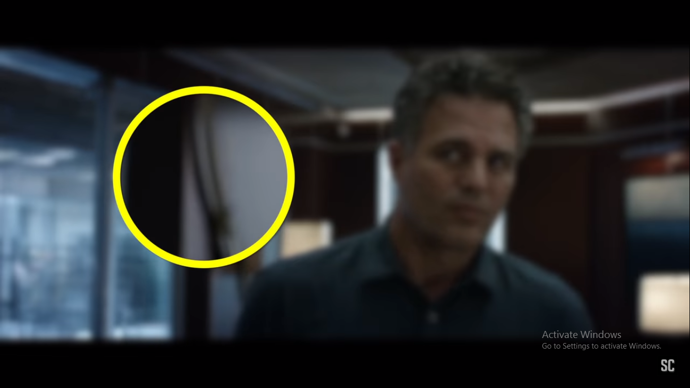 What is something you noticed in the new Avengers Endgame trailer