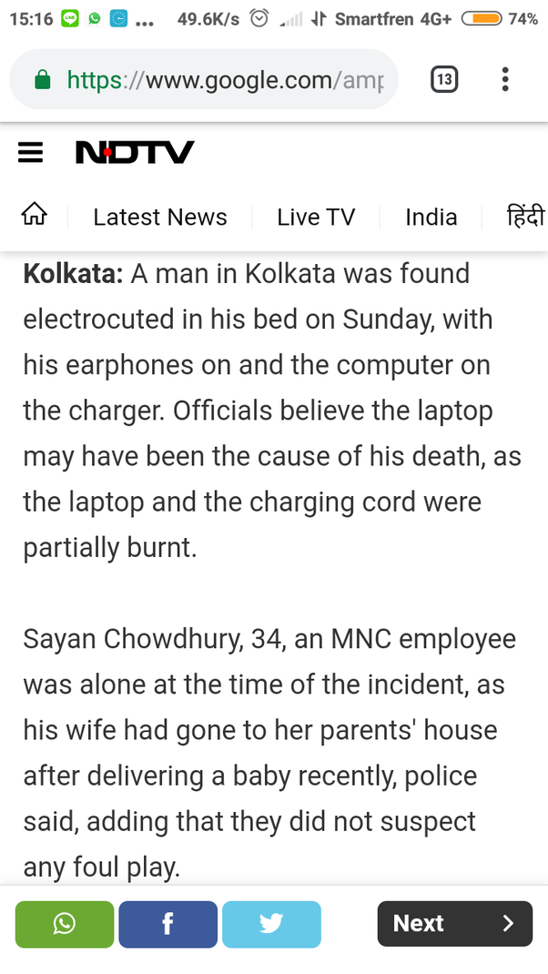 Will There Be Any Danger In Using Headphones Plugged To Laptop While Charging Quora