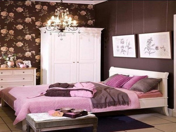 ... This Color Combo Can Look Very Elegant And Classy In Your Home Decor.  Check Out These Gorgeous Brown And Pink Bedroom Inspiration Examples Below!