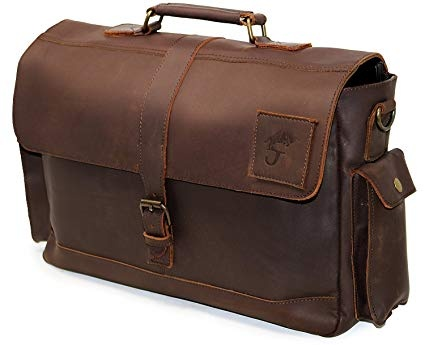 Name Good Brands For Men Leather Bags Office In India