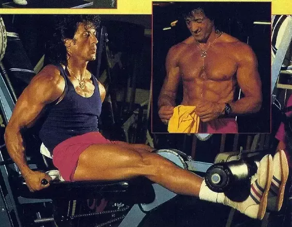 did sylvester stallone really lift the cart wheel up in