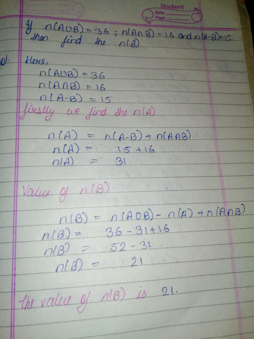 Proof Of N Aub N A N B Wiring Diagram