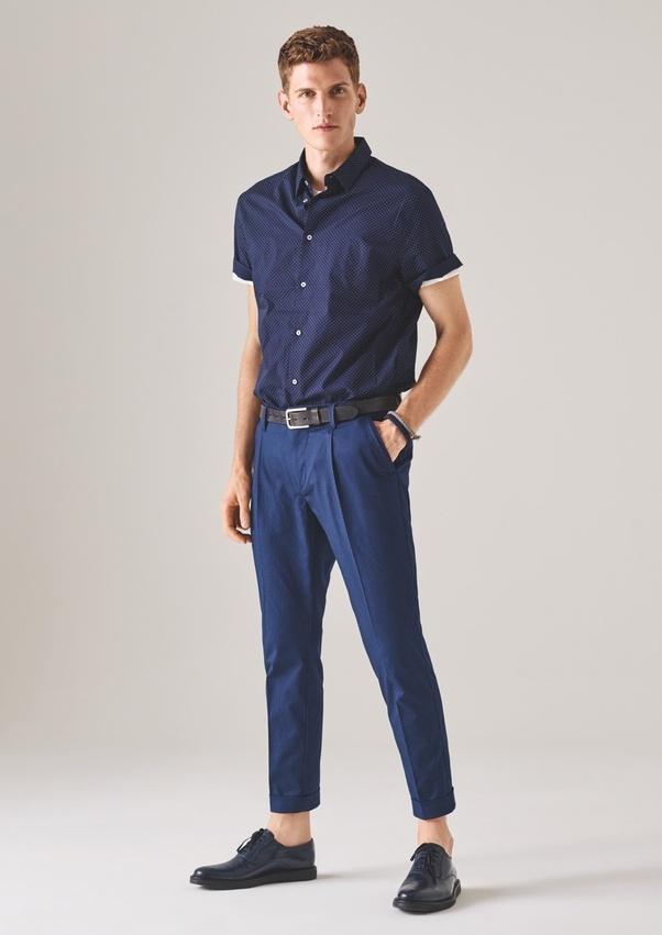 Color what to wear with navy pants