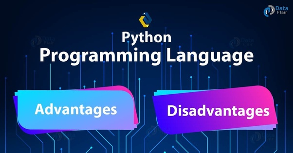 What are advantages and disadvantages of Python? - Quora