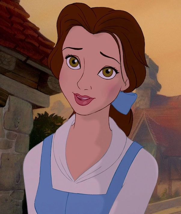 Belle Fron Beauty And The Beast Has Hazel Eyes Which Look Light