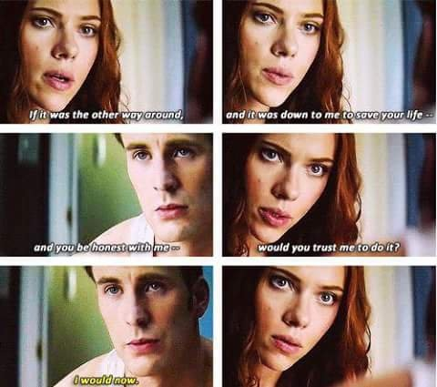 What, in your perspective, is the actual relationship between Steve Roger and Natasha Romanoff? Are they just best friends? - Quora