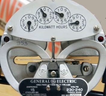 Can you put magnets on an electric meter to slow it down