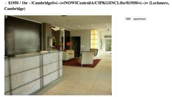 Why are rental listings on Craigslist so riddled with ...