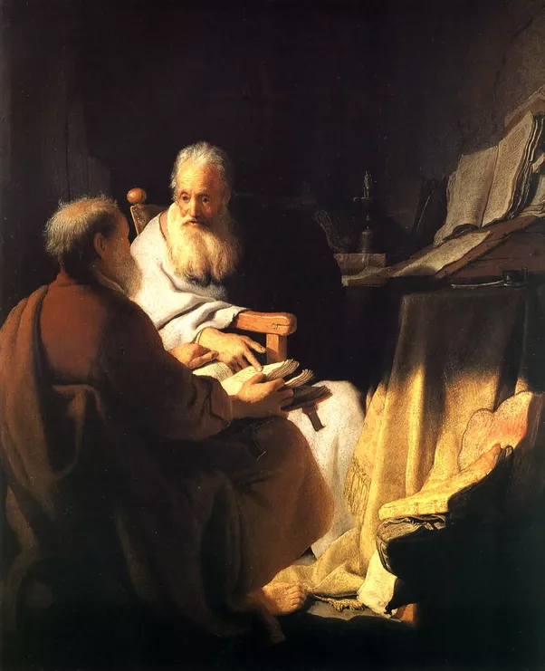 How did Rembrandt Harmenszoon van Rijn develop his painting style ...