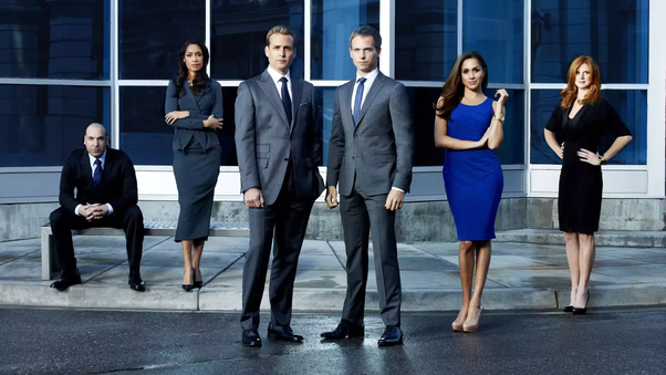 Why does Harvey Specter wear black suits? - Quora