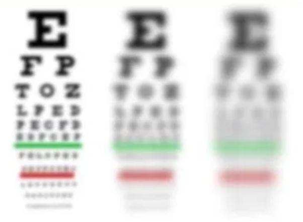 How bad is 20/100 eye sight? - Quora