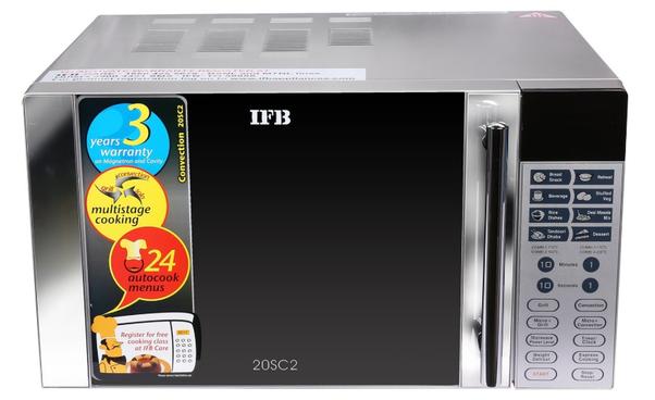 1 Ifb 20sc2 20 Litre 1200 Watt Convection Microwave Oven
