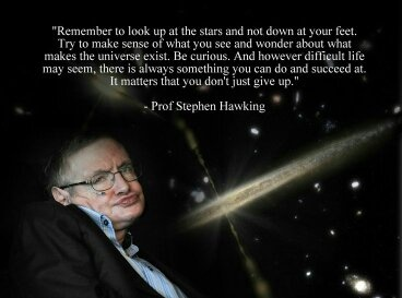 Stephen Hawking Quotes   What Is The Best Stephen Hawking Quote That Inspires You The Most