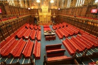 Houses Of Parliament Interior. The House of Lords  Why are the Commons seats green Quora