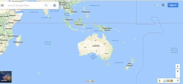 What Are The Seas And Oceans That Surround Australia Quora - Map of all the seas