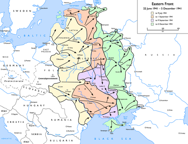 Which Battle Was More Of A Major Turning Point For The Soviet - Kursk map